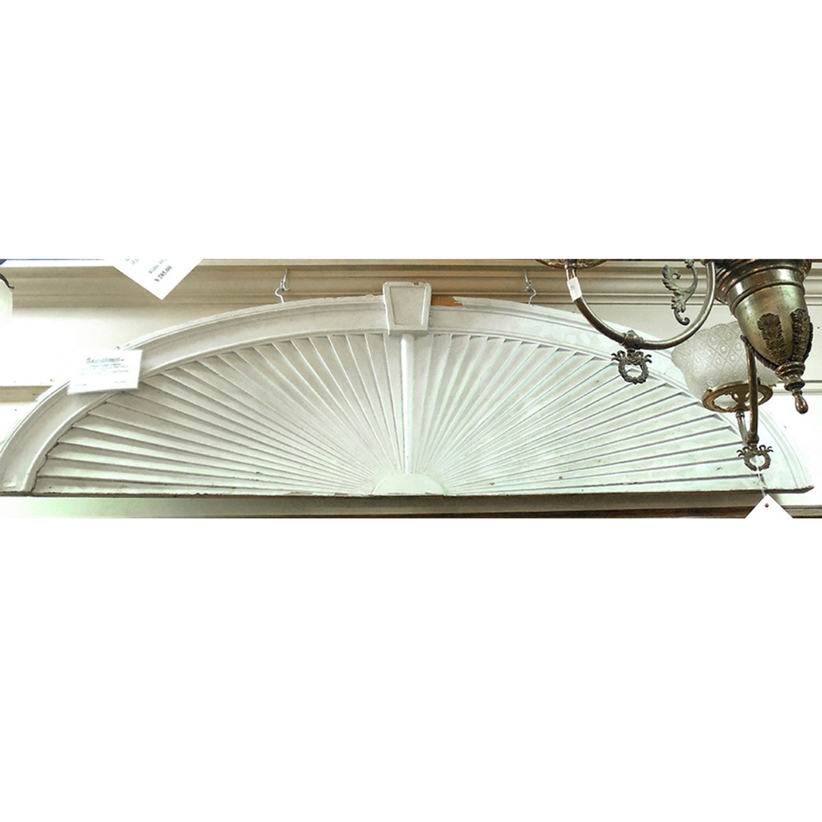 S11023 - Antique Pine Fanlight Transom