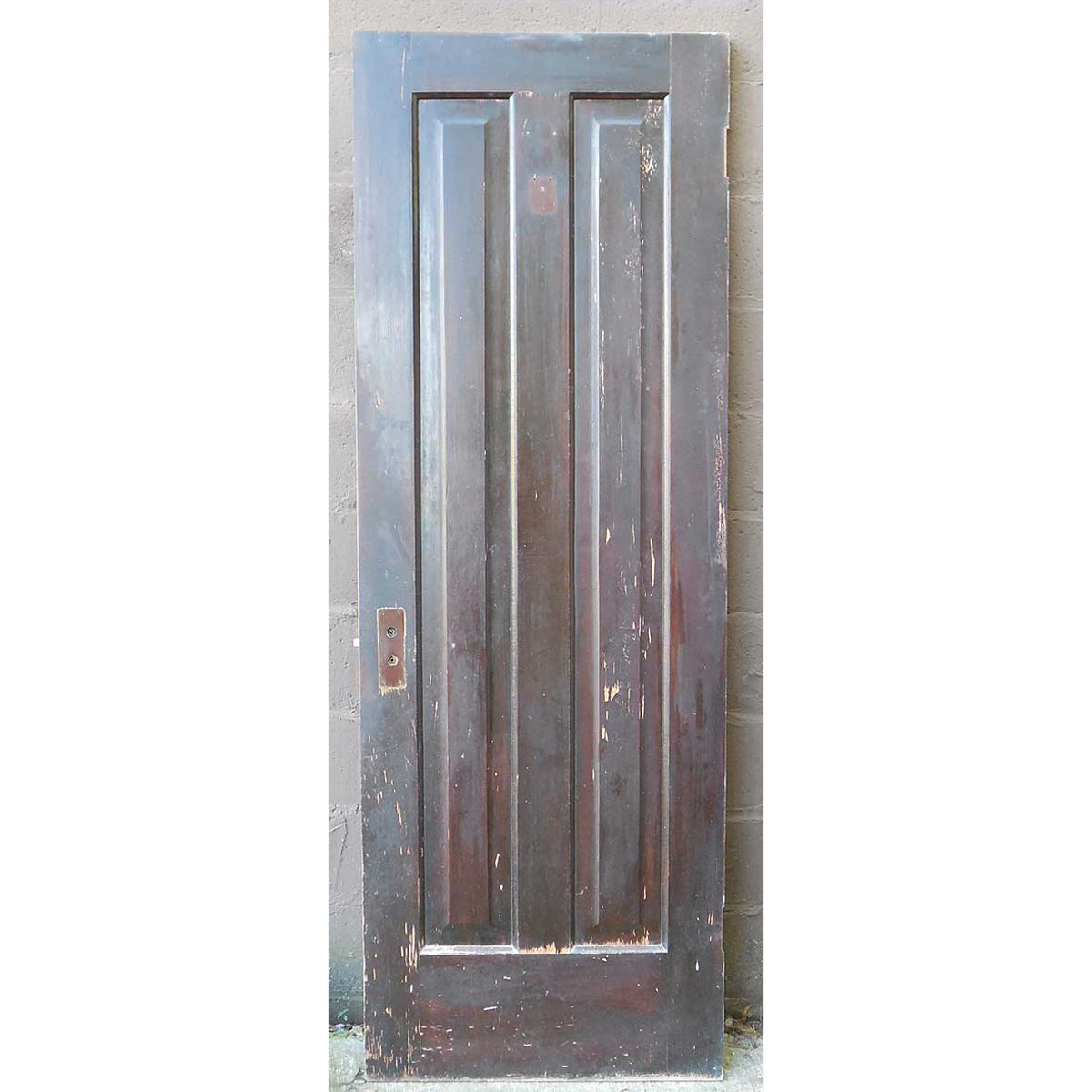 "D14143 - Antique Two Panel Door 28"" x 79-3/4"""