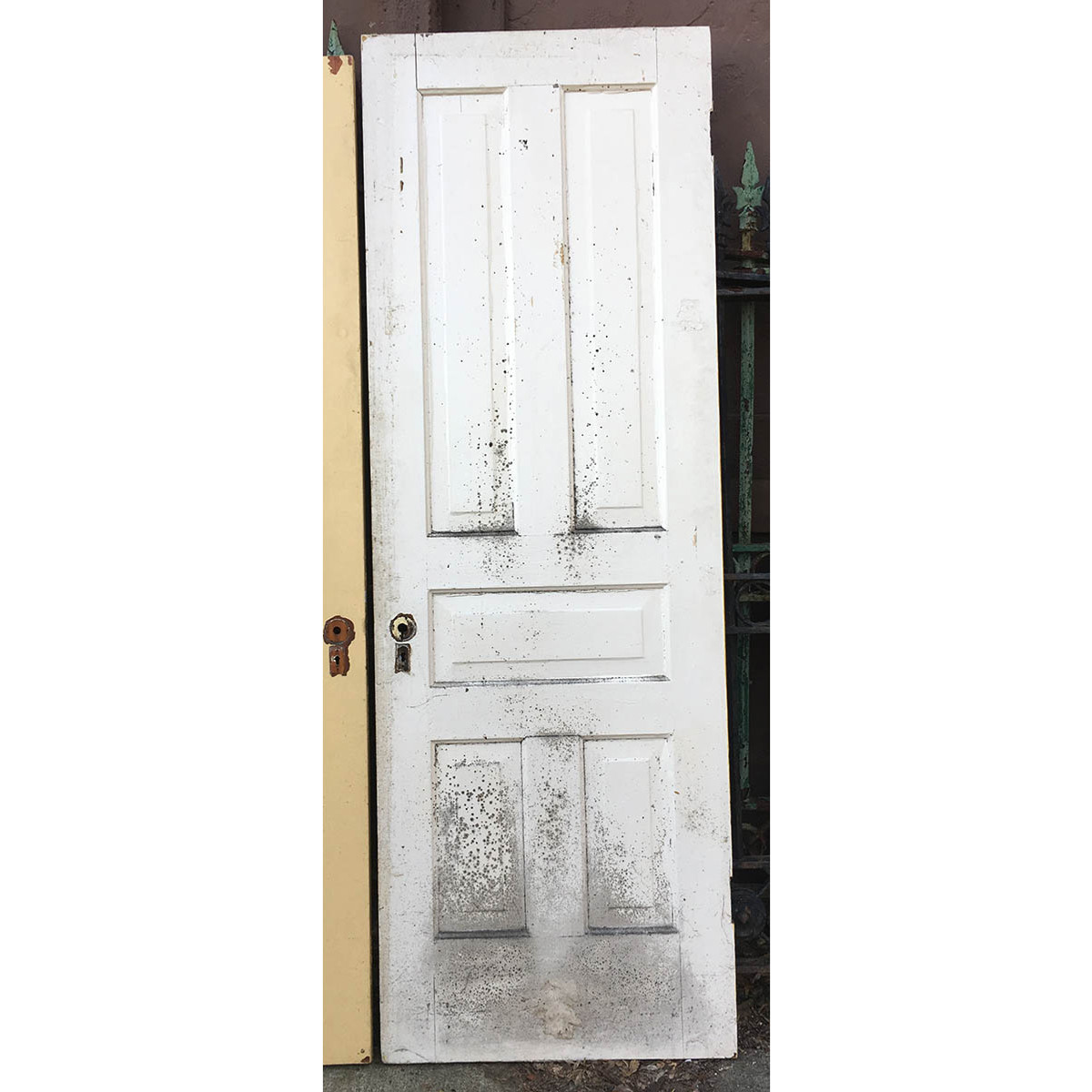 D16142 Single Antique Pine Five Traditional Panel Interior Door 28