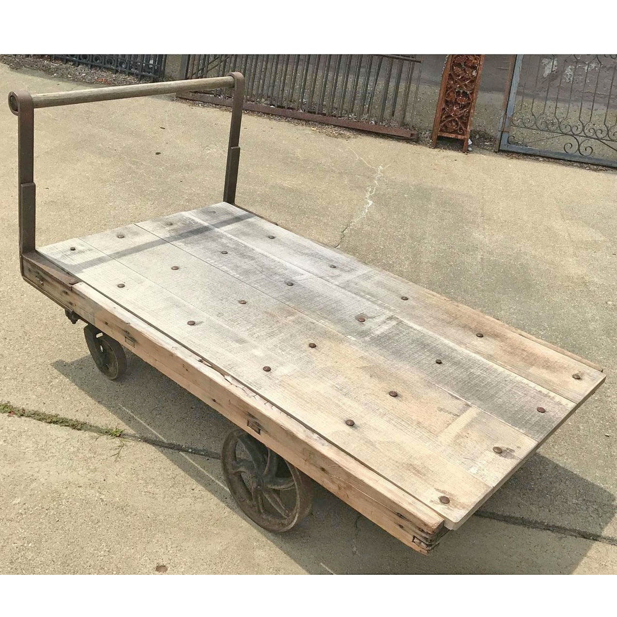 F17066 - Antique Industrial Cart