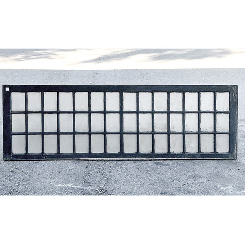 G17071 - Antique Late Victorian 42 Pane Transom Window