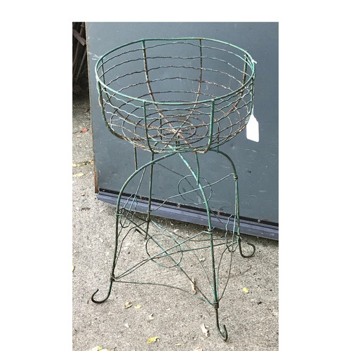 A17085B - Wire Flower Basket