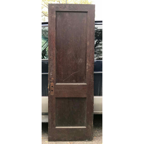 "D17165 - Antique Interior Two Panel Door 28"" x 84"""