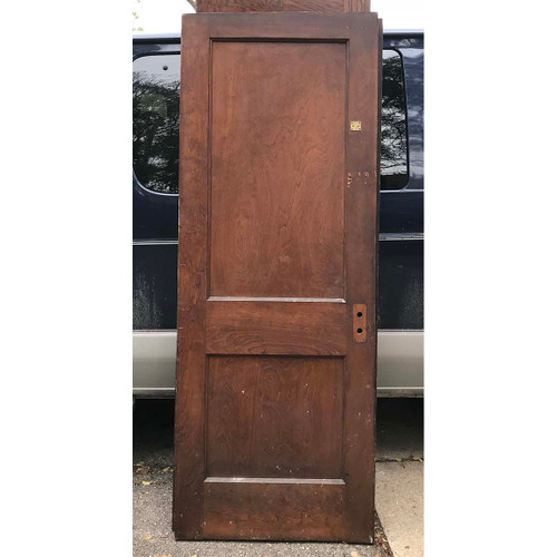 "D17168 - Antique Interior Two Panel Door 30"" x 80"""