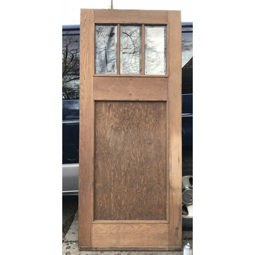 "D17183 - Antique Exterior Door 36"" x 83-3/4"""