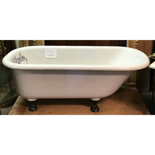 P17021 - Antique Claw Foot Bathtub - 5 ft. Long