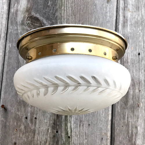 L18009 - Vintage Flush Mount Light Fixture