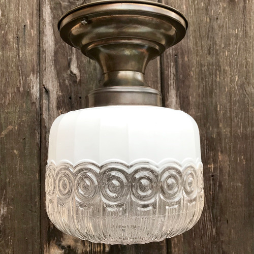 L18024 - Antique Flush Mount Light Fixture