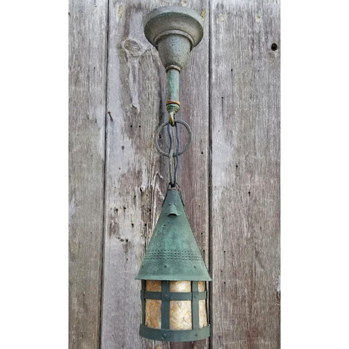L18033 - Antique Arts & Crafts Hanging Fixture