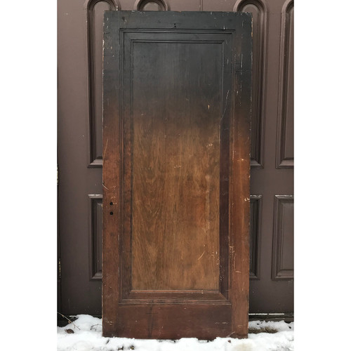 "D18022 - Antique Interior Single Panel ""Miracle"" Door 36"" x 79-1/4"""