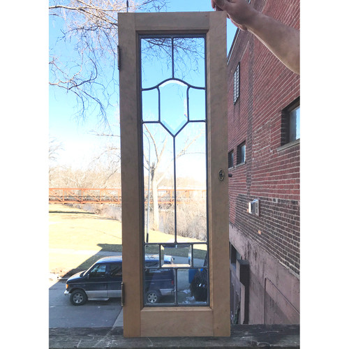 G18020 - Antique Beveled Glass  Window