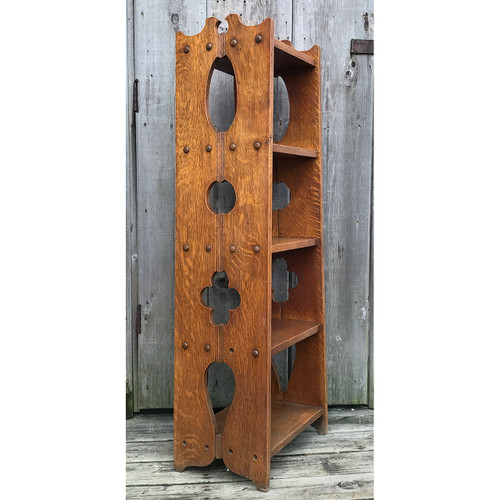 F18015 - Antique Arts and Crafts Bookshelf