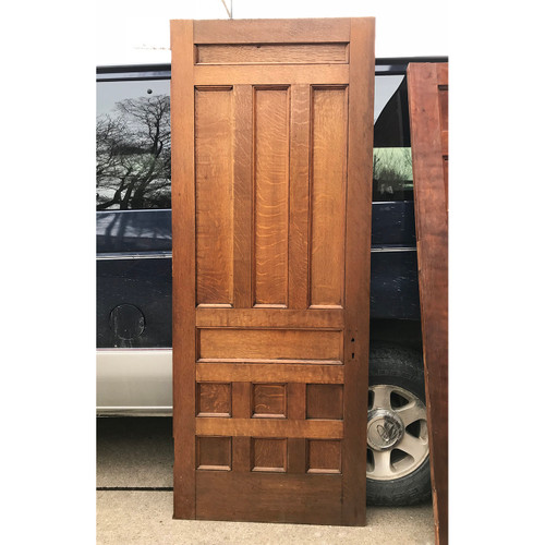 "D18028 - Antique 10 Panel Interior Door 31-3/4"" x 80-1/2"""