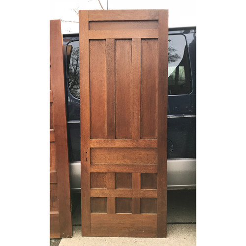 "D18027 - Antique 10 Panel Interior Door 31"" x 80"""