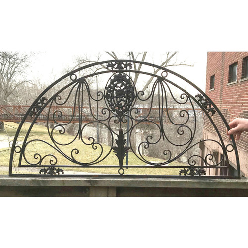 S18003 - Antique Wrought & Cast Iron Arch