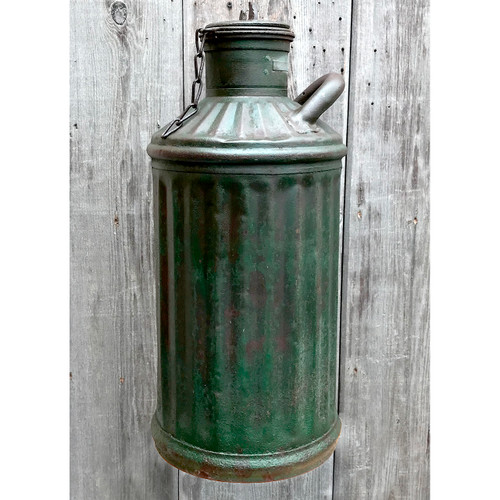 A18020 - Antique Steel Fuel Oil Can