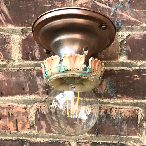 L18061 - Antique Bare Bulb Fixture
