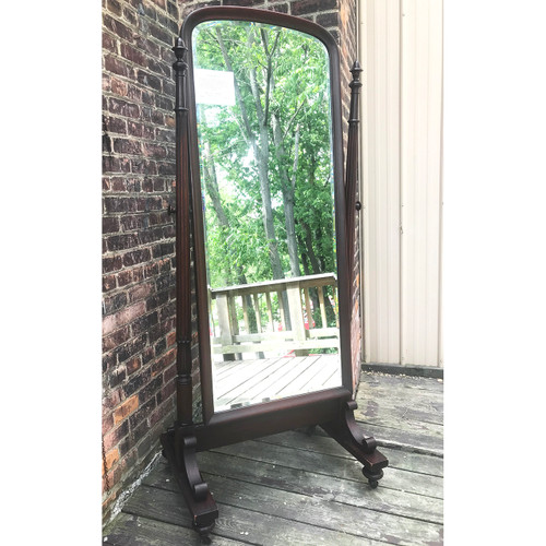 F18051 - Antique Colonial Revival Mahogany Dressing Mirror