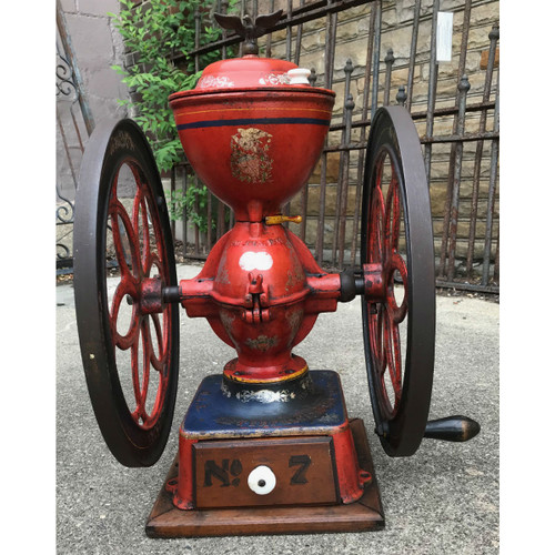 A18068 - Antique General Store Coffee Mill