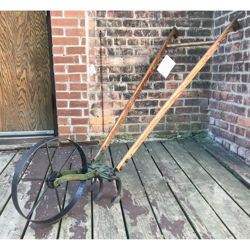 A18074 - Antique Garden Seeder and Hoe
