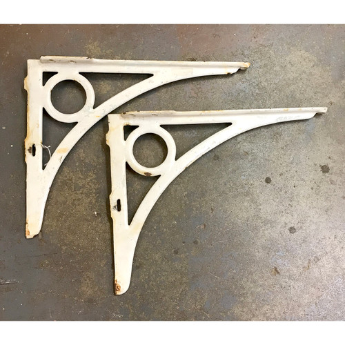 S18021 - Pair of Antique Cast IronSink Brackets