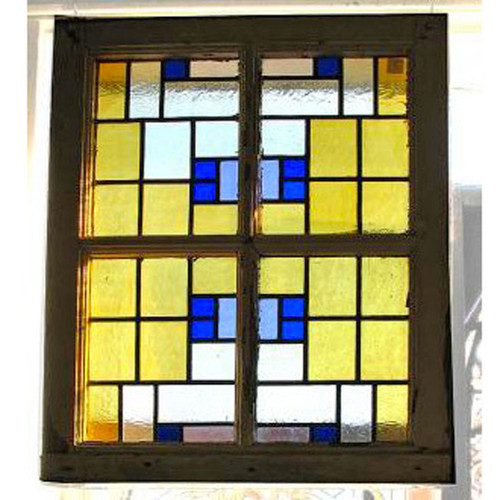 404086 - Antique Arts & Crafts/Prairie Style Window