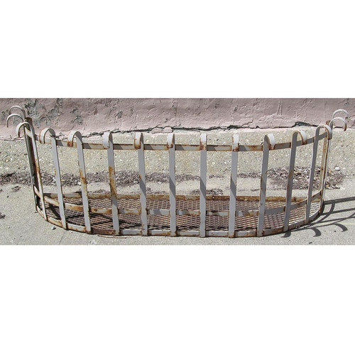 S12042 - Antique Wrought Iron Balcony