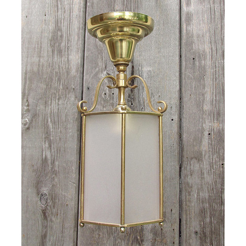L12024 - Antique Colonial Revival Ceiling Light Fixture