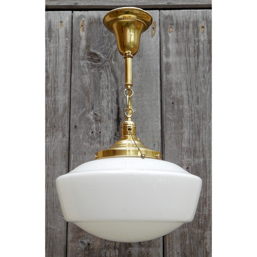L14332 - Antique Schoolhouse Light Fixture