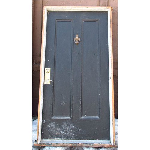 "D15015 - Antique Exterior Two Panel Door in Jamb 41-3/4"" x 81-3/4"""