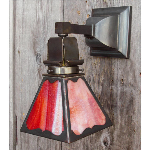 L15069 - Antique Arts and Crafts Sconce