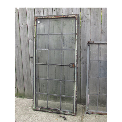 G15045 - Antique Leaded Glass Casement Window