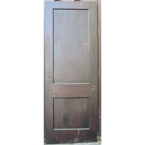 "D15188 - Antique Revival Period Two Panel Interior Door 30"" x 83"""