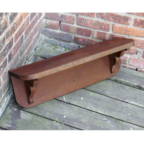 A16032 - Vintage Cherry Wall Shelf