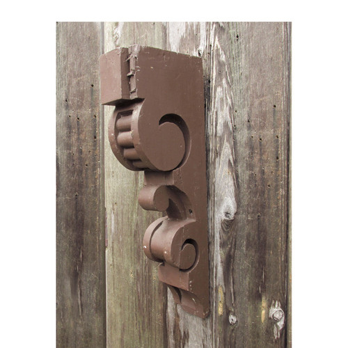 S16028 - Antique Victorian Painted Pine Sandwich Bracket/Corbel  sc 1 st  Materials Unlimited & D18049 - Antique Painted Pine Rustic Plank Door 28-1/4