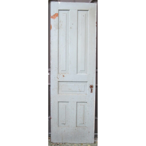"D16120 - Antique Pine Five Traditional Panel Interior Door 25-3/4"" x 81-1/2"""