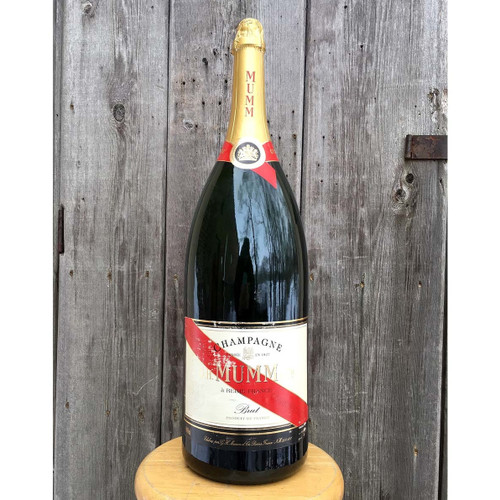 A16105 - Vintage Store Display Large Champagne Bottle