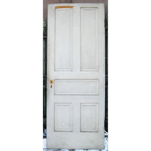 "D17021 - Antique Pine Five Panel Interior Door 30-3/4"" x 78-1/4"""