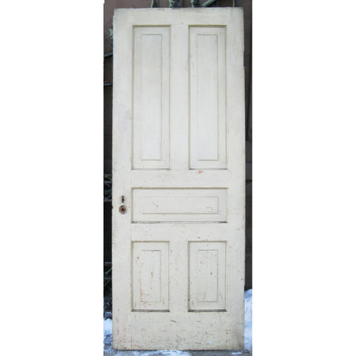 "D17024 - Antique Pine Five Panel Interior Door 29-3/4"" x 78"""