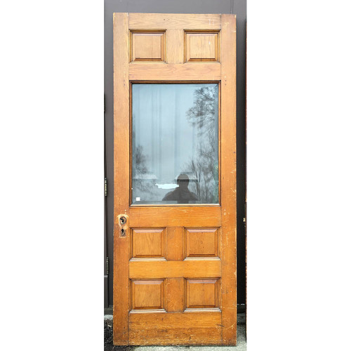 "D17040 - Antique Exterior Door 33-3/4"" x 90"""