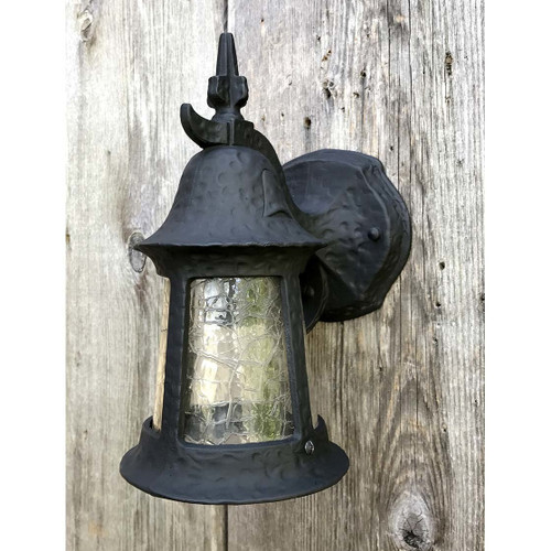 L17084 - Antique Tudor Revival Exterior Lantern Sconce