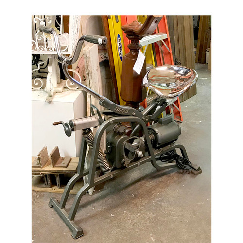 """A17025 - Vintage """"Electrocycle"""" Exercise Bike with Motor"""
