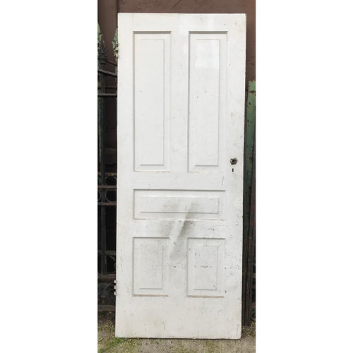 "D17079 - Antique Interior Five Panel Door 31-3/4"" x 79-1/4"""