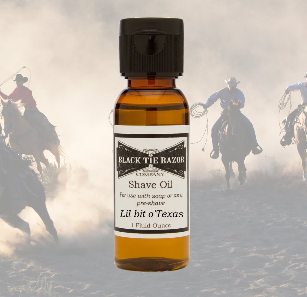 Shave Oil - Lil bit o'Texas