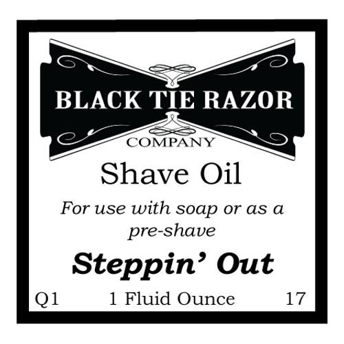 Shave Oil - Steppin' Out