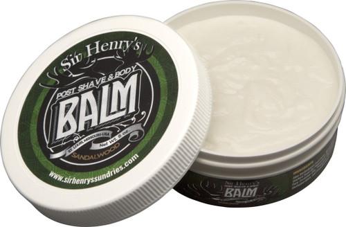 Sir Henry's Post Shave & Body Balm - Sandalwood (6 ozs.)