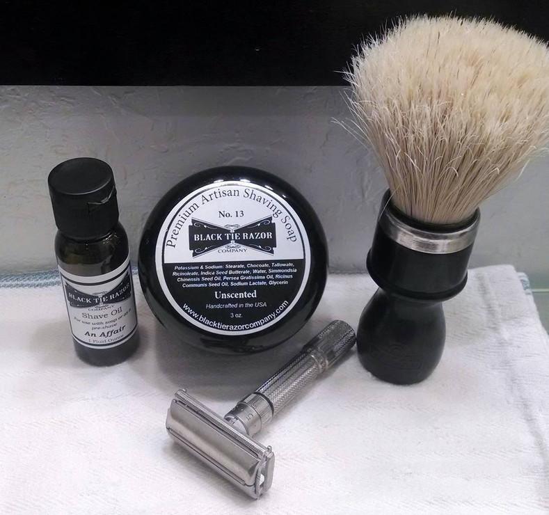 Matt Broderick Review of No. 13 Soap & An Affair Scent/Shave Oil
