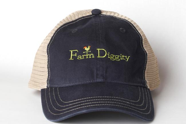 Farm Diggity Hat / Navy  /Khaki