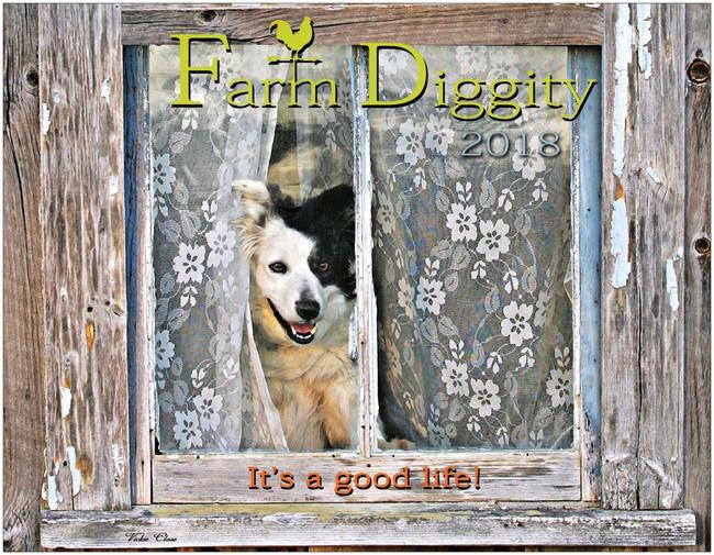 Farm Diggity Calendar / Just a few left.  Ships Free!