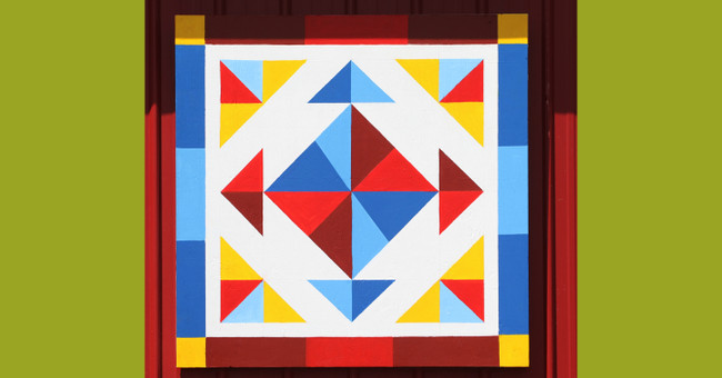 The making of a barn quilt